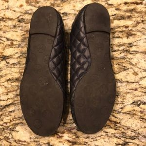 Tory Burch Shoes - Tory Burch  deep navy flats, size 8